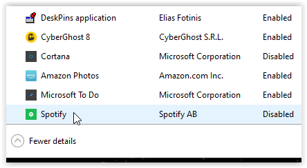 How to Stop Spotify From Opening on Startup through windows task